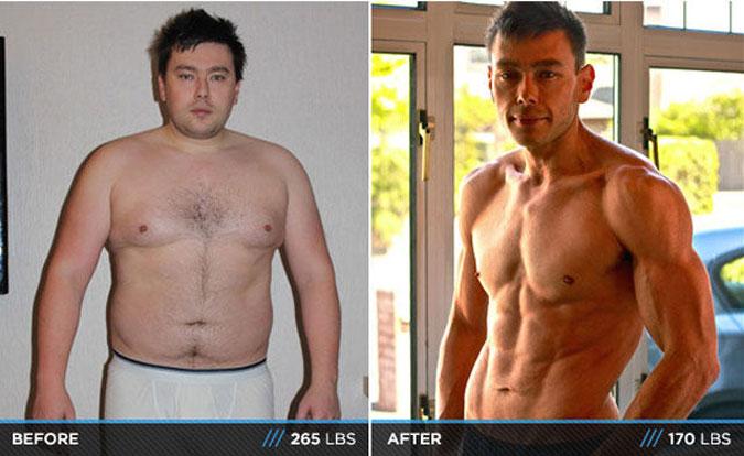 Как сбросить лишний вес парню