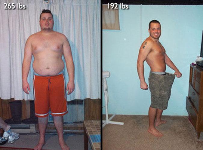 Как в домашних условиях скинуть вес мужчине