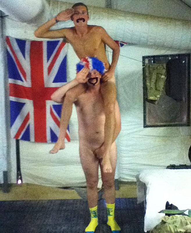 Photos of prince harry naked in las vegas leaked on us website