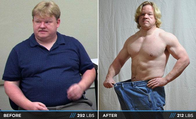 Похудеть парню 17 лет