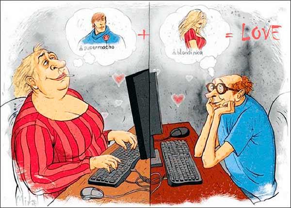 Виртуальные знакомства: Кто нас ждет по ту сторону экрана