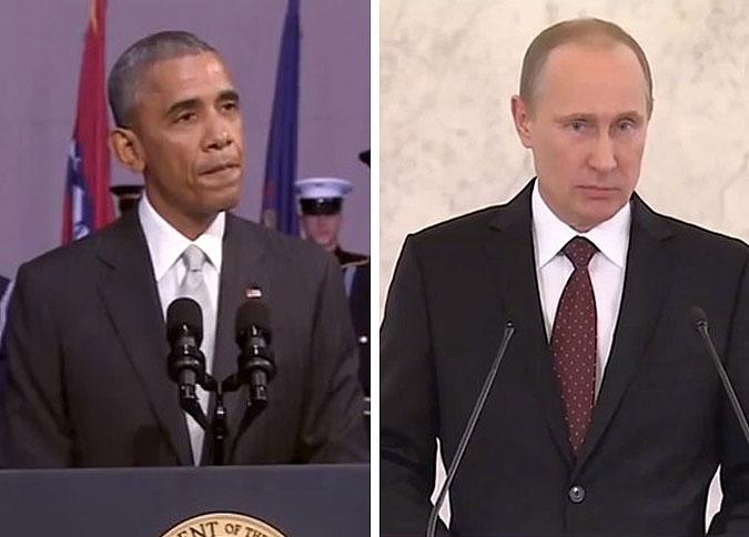 Видео с «молчаливыми» Обамой и Путиным взорвали Интернет