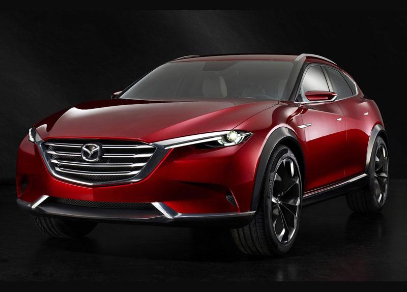Mazda рассекретила концепт своего нового кроссовера Koeru