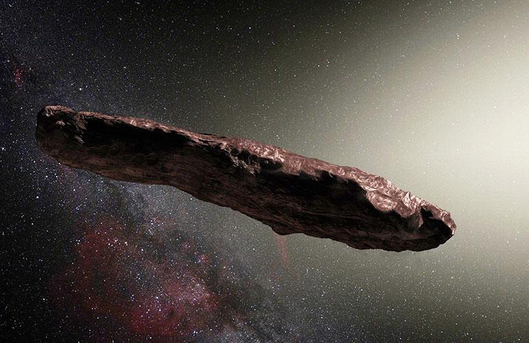 Учёные считают, что астероид Оумуамуа – это инопланетная технология